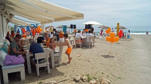 Koningsdag at Siroko Beach Marbella